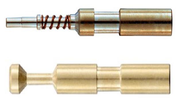 Harting fibre optic contacts Han D fibre optics