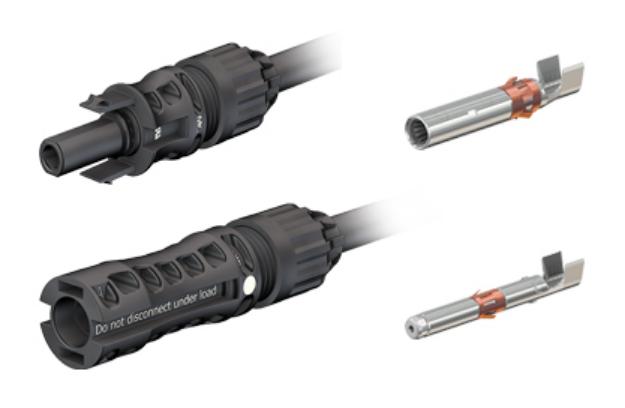 Solar-Stecker / Solar-Kabel Stäubli MC4-Evo2