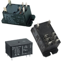 Relays Potter & Brumfield Power Relays T92