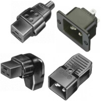 IEC 60320 Appliance couplers acc. to IEC 60320 CEE Connectors C19/C20