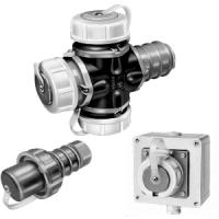 Power Plugs CEE 7/4 Compressed waterproof Schuko connectors IP68