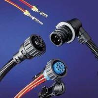 Rundsteckverbinder DIN 72585