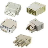 Harting Connector Han-Yellock 60 Han Modular Signal Modules