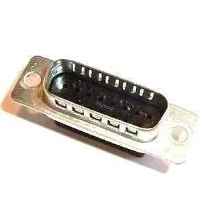 AMP HD-20 D-Sub Stiftstecker 15-polig