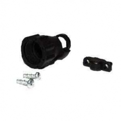 AMP CPC cable clamp kit with strain-relief shell size 11