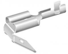 Flachsteckhülse 6,3x0,8mm, 1,5-2,5mm², mit Abzweig, verzinnt
