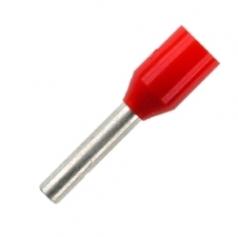 Insulated Wire Ferrules 8 mm red 1.0mm² - 500er PU