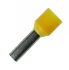 Insulated Wire Ferrules 12 mm yellow 6.0mm² - 100er PU