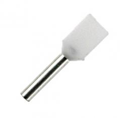 Doppel-Aderendhülsen 8mm weiß 2x0,5mm² - 500er VE