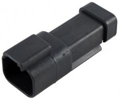 DEUTSCH Steckergehäuse 2-polig DT-Serie mit Endkappe