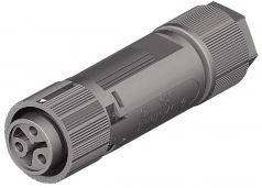wieland RST-Mini Connector RST16i3, female, 3 pole