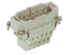 Han 10ESS, male insert, 0,14-2,5mm², cage clamp
