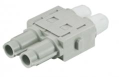 Han HV single modul male insert, 0,14-4mm², crimp