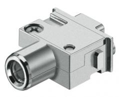Han PE module, female, axial screw, 22-38mm²