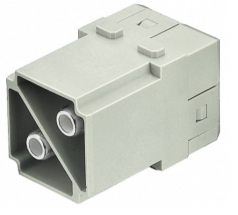 Han 100A module, male, axial screw, 38mm²