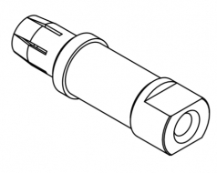 TC200 screw contact, female, 70mm²