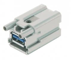 Han-Brid USB 3.0 male insert