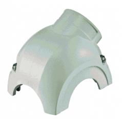 Han-Yellock 30 shell, side entry, 1xM20, white