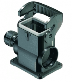 Han-Eco B 6B surface mounted housing, outdoor, integr. cable gland, side entry, 1xM25