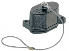 Han 3 HPR protection cover, for hoods, with fixing cord