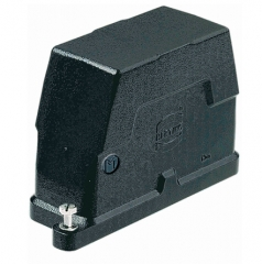 Han 10B HPR hood, toggle locking, side entry, 1xM25