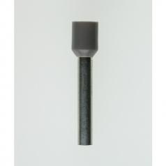Insulated Wire Ferrules 18 mm grey 4,0 mm² - 100er PU