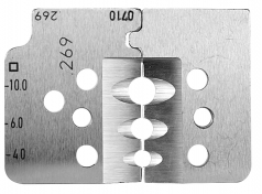 Spare blades kit 4,0-10,0 for Insulation Stripper R6072693