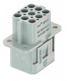 Han Q 8/0 female insert Crimp termination, 0,14-4mm²