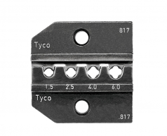 Die-set for Tyco-Solarlok connectors, 1,5 - 6,0mm²
