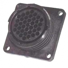 AMP CPC Flange-Receptacle housing for female contacts 37-pole