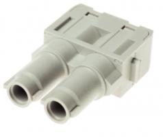 Han 70 A module, female, axial screw, 6-16mm²