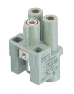Han Q 2/0 female insert 4-10mm²