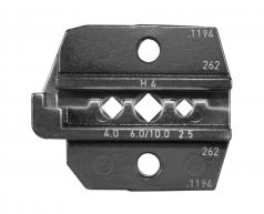 Die-set for H4 CF, 2,5 - 10,0mm²