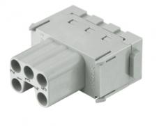 Han ES modul female insert, 0,14-2,5mm², cage-clamp