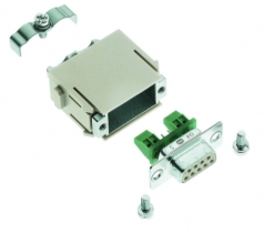 Han D-Sub modul for RS485 female insert