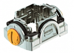 Han-Yellock 30 carrier hood, push button, slot