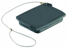 Han-Yellock 30 protection cover for carrier hoods, with fixing cord