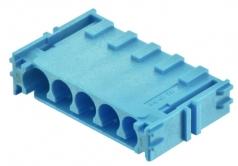 Han-Yellock modul, crimp termination, blue