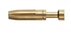Han A/E socket contact, 0,5mm², golden plated