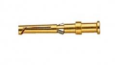 Han D socket contact, 1,5mm², golden plated
