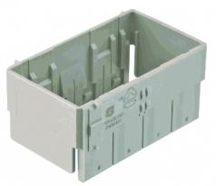 Han-Yellock 60 adapter frame for for housings, bulkhead mounting