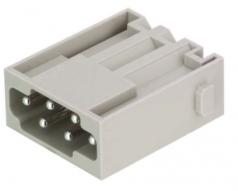 Han E modul male, 0,5-2,5mm², quick lock