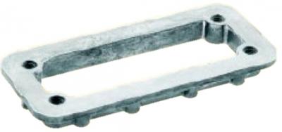 mounting frame for standard hoods/housings Han 24B