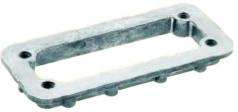 mounting frame for standard hoods/housings Han 16B