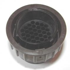 AMP CPC plug housing 37 poles male contacts