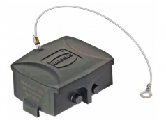 Han-Eco 6B Protection cover for bulkhead- and surface mounted housing, cable to cable housing, with fixing cord