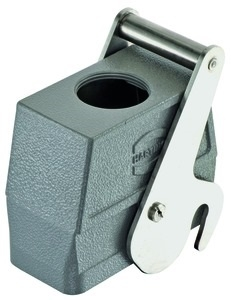 Han 16B hood, top entry, 1xM32, central locking lever (on the hood), high construction