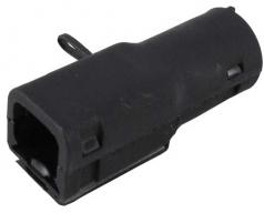 Backshell for DTM04-2P, black