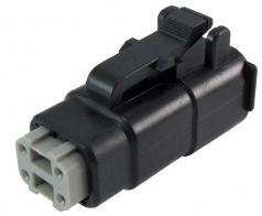 DEUTSCH Plug Housing 4-pole DTMH-Series, coding A
