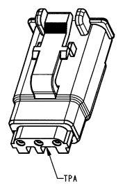 DEUTSCH Plug Housing 3-pole DTMH-Series, coding A
